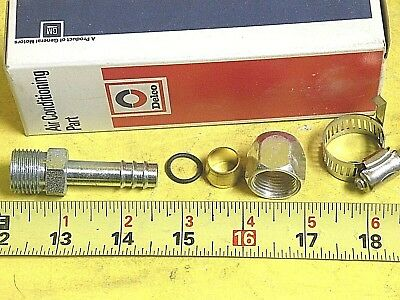 """Air Conditioning Hose Make Up SPLICER KIT METAL TO RUBBER 1/2"""" LINE to 13/32"""" #8"""