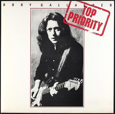 RORY GALLAGHER - Top Priority - 1979 France LP Chrysalis