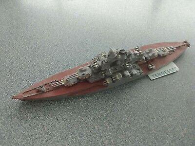 1/1200 scale WWII Battleship USS TENNESSEE 1944