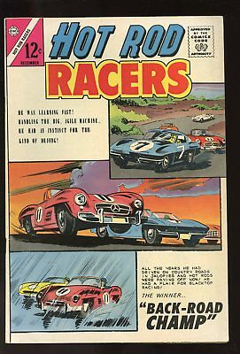 Hot Rod Racers #1 Fine 6.0 1964 Charlton Comics