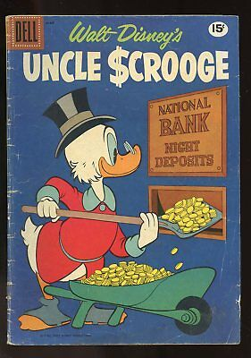 Uncle Scrooge #33 Very Good- 3.5 1961 Dell Comics