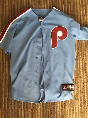 premium selection 58efd d2905 COOPERSTOWN COLLECTION PHILADELPHIA Phillies Mike Schmidt Throwback Jersey M