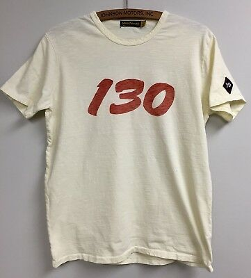 Johnson Motors James Dean Little Bastard 130 Men's Tee size L, new with defects