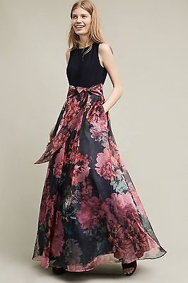 Blooming Bow Dress Moulinette Soeurs Size 6 Nwt Maxi Gown 11900
