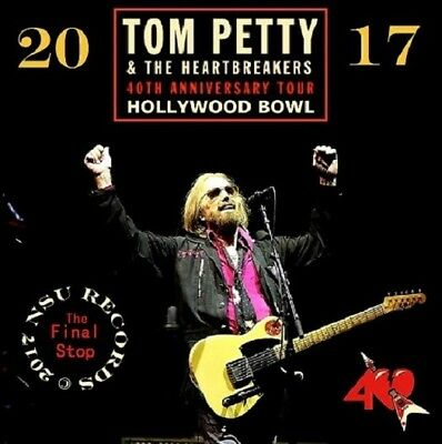 Tom Petty & The Heartbreakers  -  Live at the Hollywood Bowl 2017 Sept 25th 2 CD