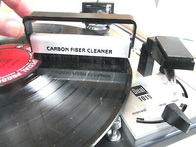 Record Cleaning Carbon Fibre Brush Works Great Wet Or Dry Perfect For Vinyl