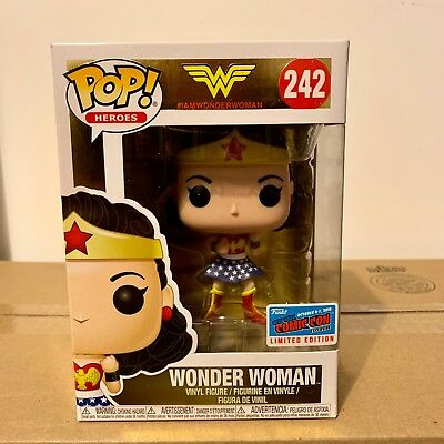 DC: Wonder Woman (1st Appearance) NYCC 2018 Exclusive Funko Pop (Con Sticker)