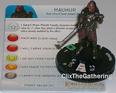 The Return of the King LotR HeroClix HARADRIM #005 Lord of the Rings