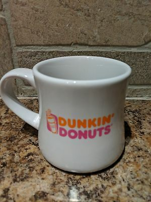 Vintage Dunkin Donuts Diner Style Ceramic Mug Cup 14 Oz - Heavy Weight