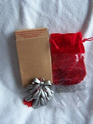 Avon Pewter Christmas Ornament 2010 with Box