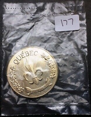 Jacques Cartier Liberte Quebec Medal - SEALED