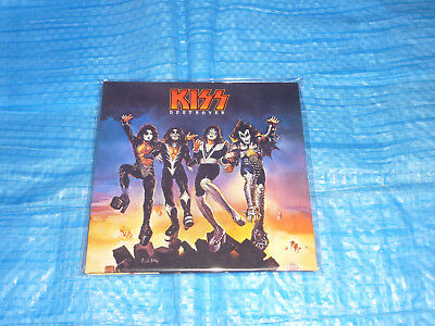 KISS Destroyer Promo Mini LP Paper Sleeve JAPAN (Cover Only)