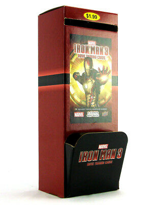 2013 Upper Deck Iron Man 3 Movie Trading Cards 36 Packs Counter Display Marvel
