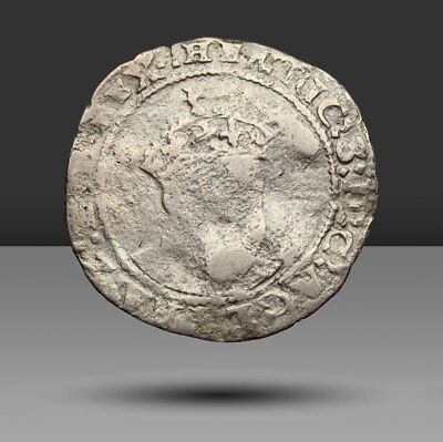 ENGLAND. Edward VI, in the name of Henry VIII, silver Groat, Canterbury