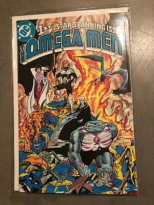 The Omega Men #1 (Apr 1983, DC)