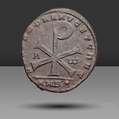 Sharp Magnentius AE2, Large Chi-Rho, Scarce and popular type