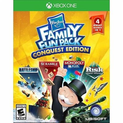 Xbox One 1 Hasbro Family Fun Pack Conquest Edition NEW Sealed REGION FREE USA