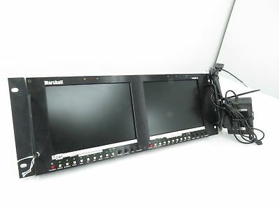 Marshall V-R82DP-SD Dual Video Monitor #2
