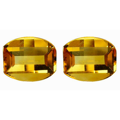 6.42 Ct AMAZING! NICE GRADE GENUINE NATURAL GOLDEN YELLOW CITRINE