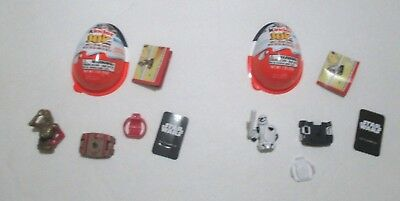 Lot Of 2 Kinder Joy Star Wars Collectible Figures Toys Complete