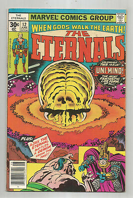 Eternals # 12 * Jack Kirby * 1976 * Marvel Comics