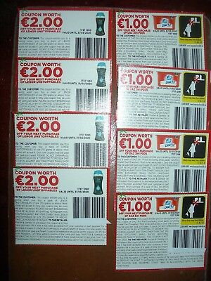 12 Euros Worth Of Money Off Coupons On Daz & Lenor Laundry Products,