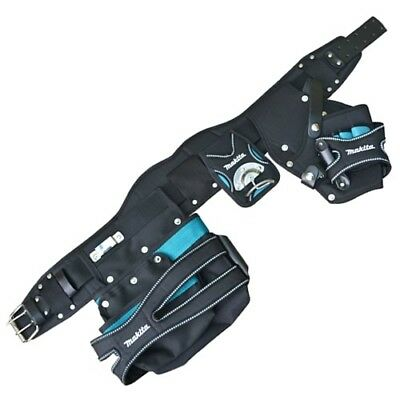 Makita 66.058B 2 Pouch Holster Tool Belt Set - Black & Blue
