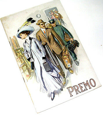 1910 PREMO Cameras Extensively Priced and Illustrated 48 pg. Catalogue