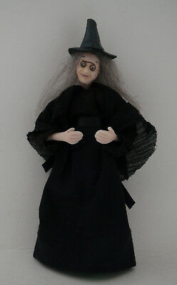 Dolls House Miniature Old Witch 1-12TH Scale
