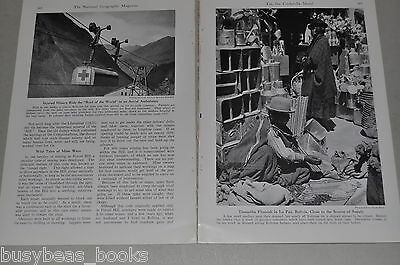 1940 magazine article about Tin, military need, mining, processing, BOLIVIA