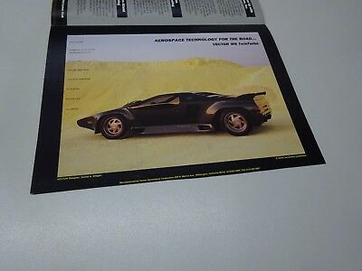 TWO (2) VECTOR PERSPECTIVE LEAFLETS. in ENGLISH. FALL 1989 & SPRING 1990. W8