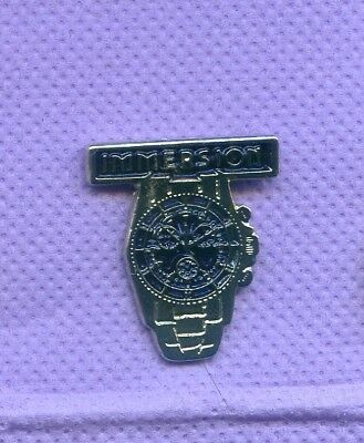 Rare Pins Montre Immersion R644