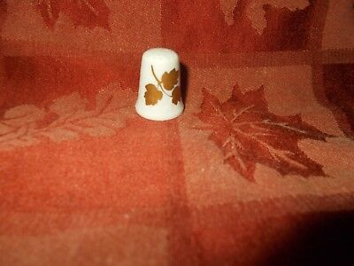 gold leaved thimble by vohenstrauss