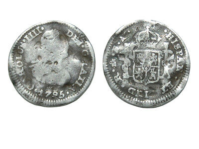 Spanish Silver coin , 224 year old coin