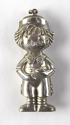 Sterling Bobbs Merrill Raggedy Andy Puff Ornament NO RSV Collection 11g RE 22
