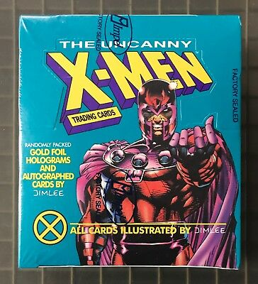 1992 The Uncanny X-MEN Unopened Factory Sealed Box by Impel