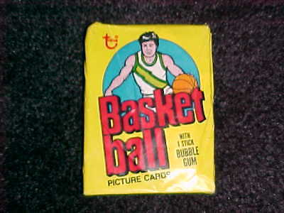 (1) Vintage 1978/79 Topps NBA Basketball Unopened Wax Pack VG + Condition