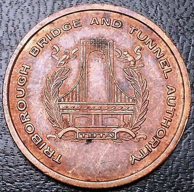Triborough Bridge and Tunnel Authority Medal - Great Condition