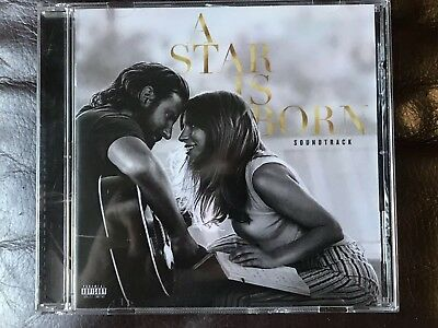A Star Is Born Original Soundtrack Film CD 2018 Lady Gaga Bradley Cooper