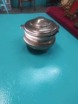 Vintage Silver Pipe Tabaco Holder