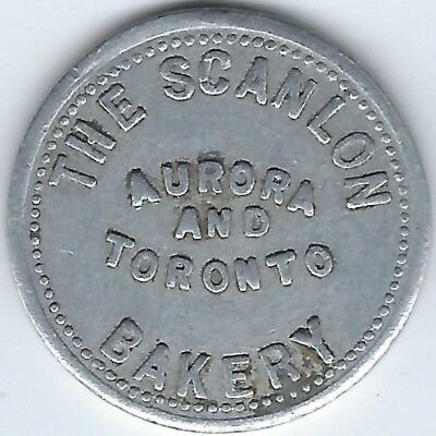 ONTARIO Aurora Toronto The Scanlon Bakery Good For 1 Loaf Astwood 100a Inv 79