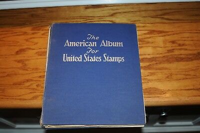 The AMERICAN ALBUM for UNITED STATES POSTAGE STAMP SCOTTS C 1941 OVER 1000 STAMP