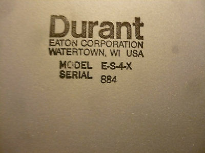 Lot of 4 New Durant ES4X  E-S4-X Contactor