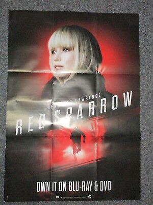 Red Sparrow (Jennifer Lawrence) - A1 Filmposter