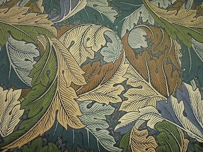 William Morris Curtain Fabric  Acanthus Velvet  5.5 Metres Dk5588