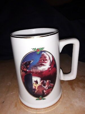 Christmas Coca-Cola Mug 1996 Collector Editions