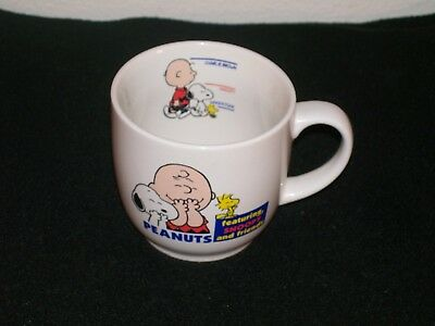 Unusual Peanuts Mug of Snoopy, Charley Brown & Woodstock with PAW Mark on Base