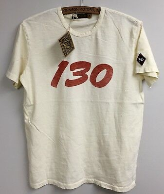 Johnson Motors James Dean Little Bastard 130 Men's Tee size M, new without tags