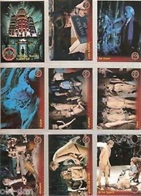 DOCTOR WHO & THE DALEKS    INVASION OF EARTH 2150 AD. trading card set