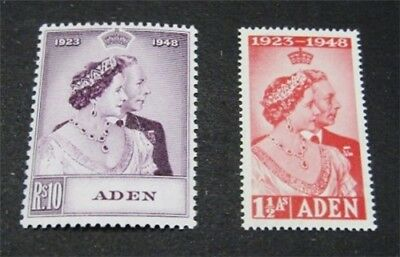 nystamps British Aden Stamp # 30.31 Mint OG NH $38